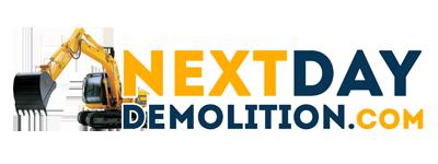 Next Day Demolition Ohio Logo